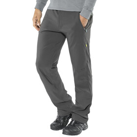 Meru M's Krimml Strech Pants Dark Grey/Black
